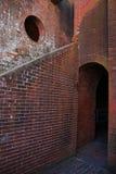 Fort Pulaski la Géorgie photo stock