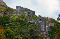 Fort in the Pyrenees Royalty Free Stock Image