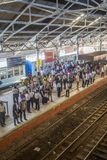 Fort Railway Station in Colombo, Sri Lanka Royalty Free Stock Photo
