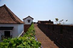 Fort Reis Magos in Goa Stockbilder