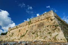 Fort of Rethymnon. Crete, Greece Royalty Free Stock Photos