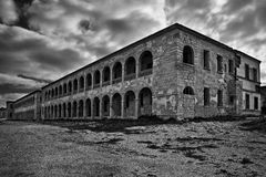 Fort Ricasoli Barracks Stock Images