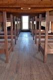 Fort Richardson Military Barracks Arkivbild