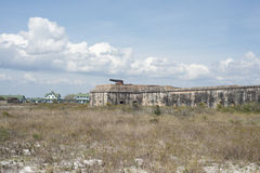 Fort Pickens Florida. Fort Rickens was completed in 1834 and is part of the Gulf Islands National seashore in Florida royalty free stock image