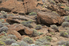 Fort Rock royalty free stock photo