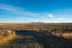Fort Rock in rural South Central Oregon royalty free stock image
