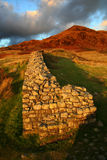 Fort romain de Hardknott Photo libre de droits