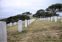 Fort Rosecrans National Cemetary Stock Image