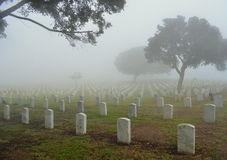 Fort Rosecrans National Cemetery Royalty Free Stock Photos
