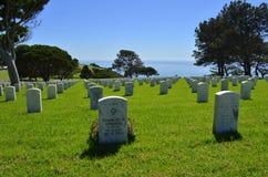 Fort Rosecrans National Cemetery Stock Photo