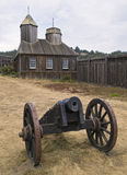 Fort Ross Cannon Royalty Free Stock Image