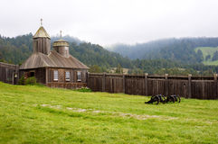 Fort Ross Sonoma Stock Images