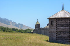 Fort Ross state park in California, USA Royalty Free Stock Photos