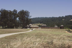 Fort Ross state park in California, USA Royalty Free Stock Images