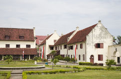 Fort Rotterdam royalty free stock photos
