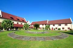 Fort Rotterdam. In Makassar,Indonesia Stock Photos