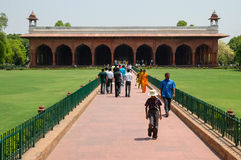 Fort rouge à New Delhi, Inde Photos stock