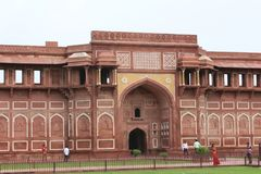 Fort rouge de New Delhi, Inde Images libres de droits