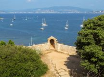 Free Fort Royal Sainte-Marguerite Royalty Free Stock Photography - 123204867