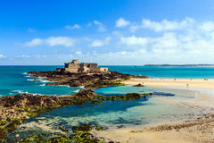 Fort Royale in Saint Malo, France. Royalty Free Stock Photography
