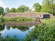 Fort Ruigenhoek near Utrecht, Netherlands Stock Images