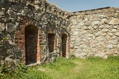 Fort ruin of Kronoberg Royalty Free Stock Photo