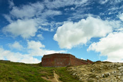Fort ruins Royalty Free Stock Photo