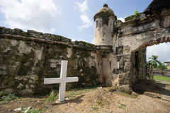 Fort ruins in Panama Royalty Free Stock Photography