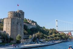 Fort of Rumelihisari, Istambul Royalty Free Stock Photography