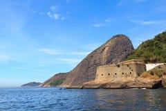 Fort São João and Sugarloaf, Urca, Rio de Janeiro Royalty Free Stock Photos