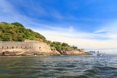 Fort São João, Rio de Janeiro Stockbild