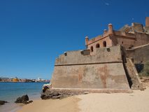 Fort of São Joao do Arade Stock Image