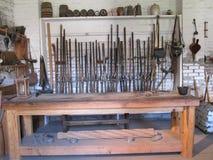 Fort Sacramento de Sutter d'armurerie d'armes Image libre de droits