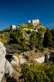 Fort Saint-Agnès in the mountains Royalty Free Stock Image