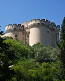 Fort Saint-André's Towers Royalty Free Stock Photography