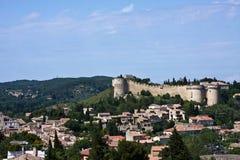 Fort Saint-André and Villeneuve-lès-Avignon Stock Image