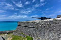 Fort Saint Catherine - Bermuda. Fort Saint Catherine in St. George's, Bermuda royalty free stock photos