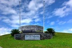 Fort Saint Catherine - Bermuda Royalty Free Stock Photo