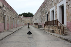 Fort of Saint Charles, Havana Stock Images