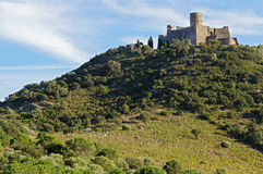 Fort Saint Elme in Languedoc Roussillon Stock Image