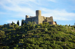 Fort Saint Elme in Roussillon France Royalty Free Stock Photography