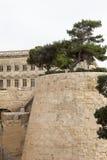 Fort Saint Elmo in capital of Malta - Valletta. Europe.  Stock Photography