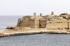Fort Saint Elmo in Malta capital - Valletta Stock Images