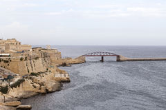 Fort Saint Elmo in Malta capital - Valletta Royalty Free Stock Images