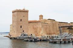 Fort Saint-Jean, Marseille, France Images stock