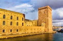 Fort Saint-Jean in Marseille, France. Fort Saint-Jean in Marseille, Provence, France Stock Image