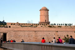 Fort Saint-Jean in Marseille, France Royalty Free Stock Image