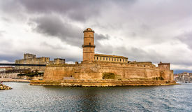 Fort Saint-Jean in Marseille, Provence Stock Photography