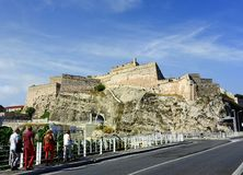 Fort Saint- Jean in Marseille Royalty Free Stock Image