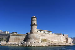 Fort Saint-Jean in Marseilles, France Stock Photo